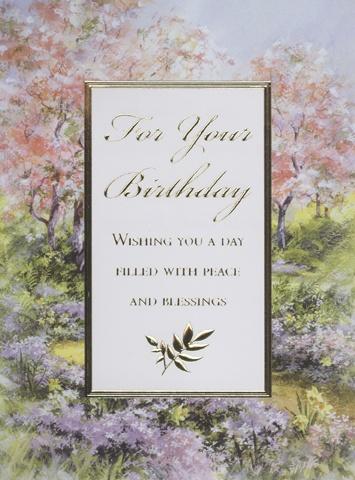 Mass Card Birthday - 2