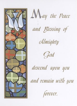 Peace and Blessing Card