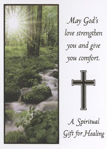 A Spiritual Healing Card