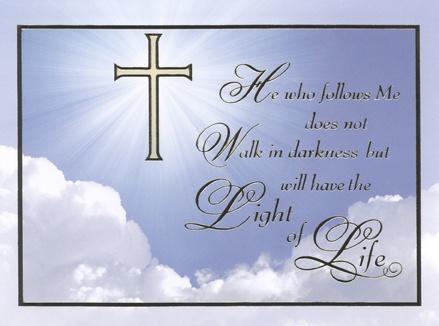 Light of Life Card